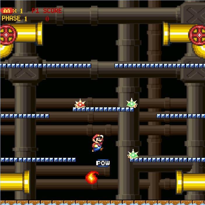 Mario Bros, Classic online