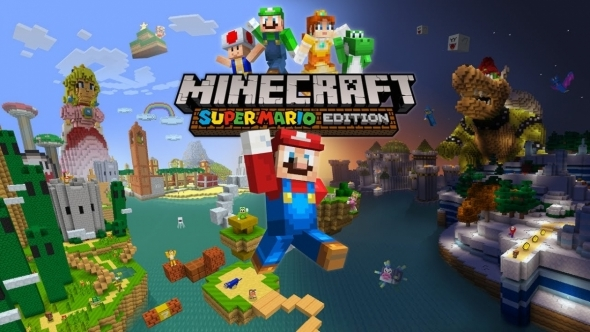 Mario minecraft game